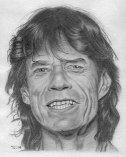 Mick Jagger par chillidemon
